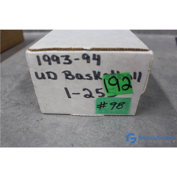 1993-94 Upper Deck Basketball - 255 Card Set