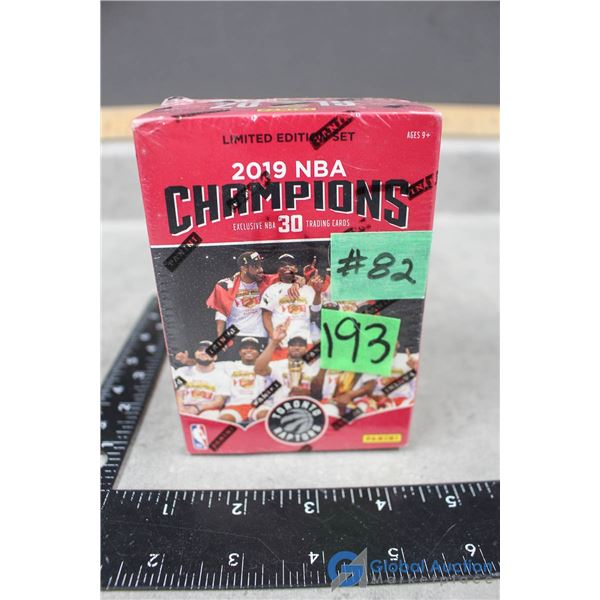 Sealed 2019 NBA Champion - Toronto Raptors Exclusive 30 Commemorative Trading Cards