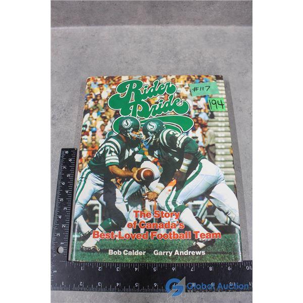 Saskatchewan Rough Riders Hard Cover Book - Autographed