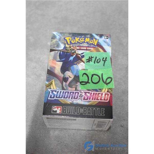 Sealed Build & Battle Sword & Shield Pokemon Card Box