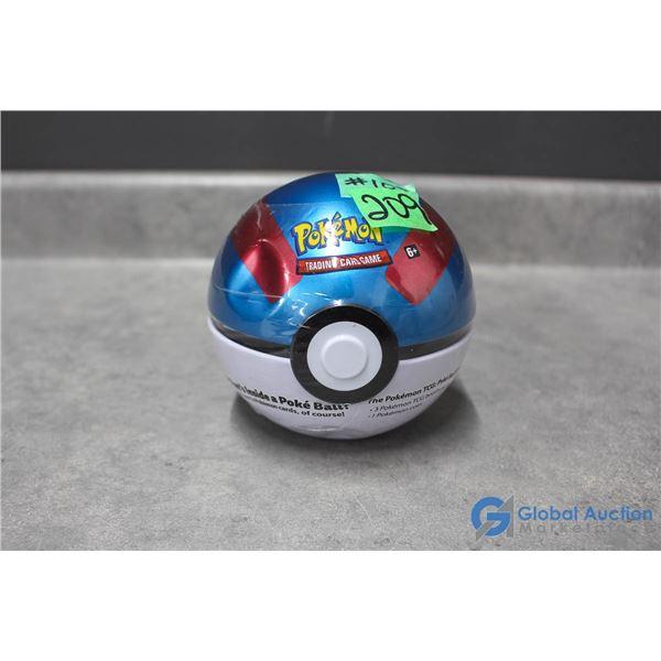 Sealed Pokemon Pokeball Tin