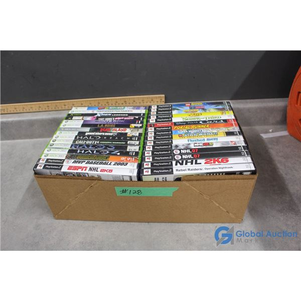 Misc Video Games - XBox, XBox 360, PS2