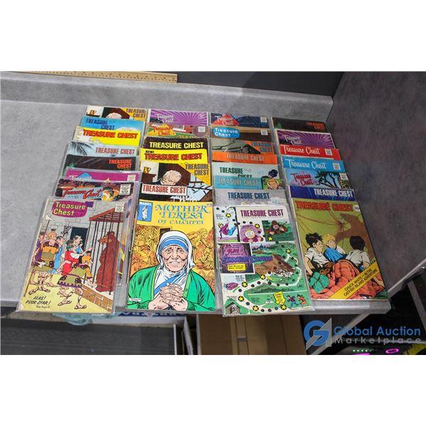 (30) Treasure Chest Comics