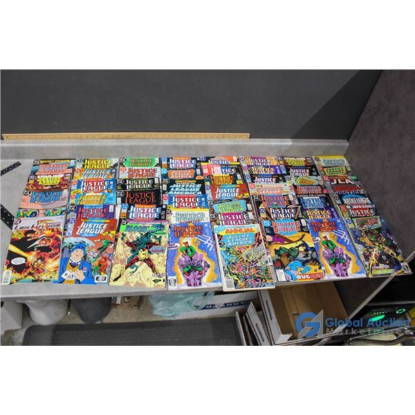 (50) Justice League Comics