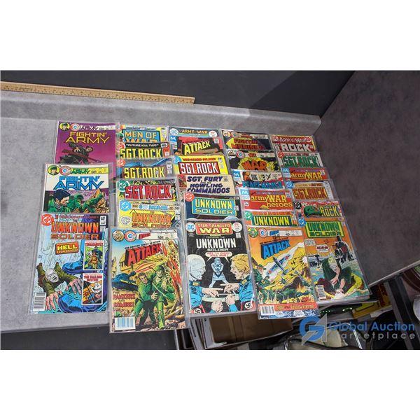 (25) War Comics