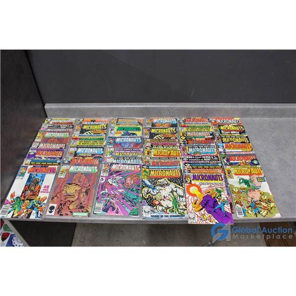(40) Micronauts Comics