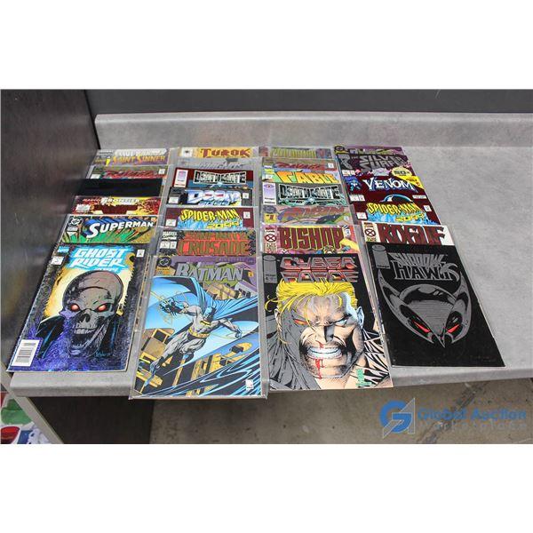 (25) Foil Comics