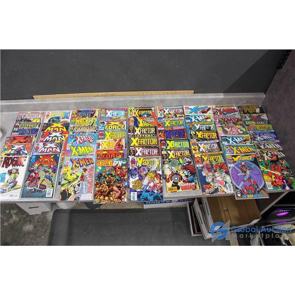 (50) X-Men Comics