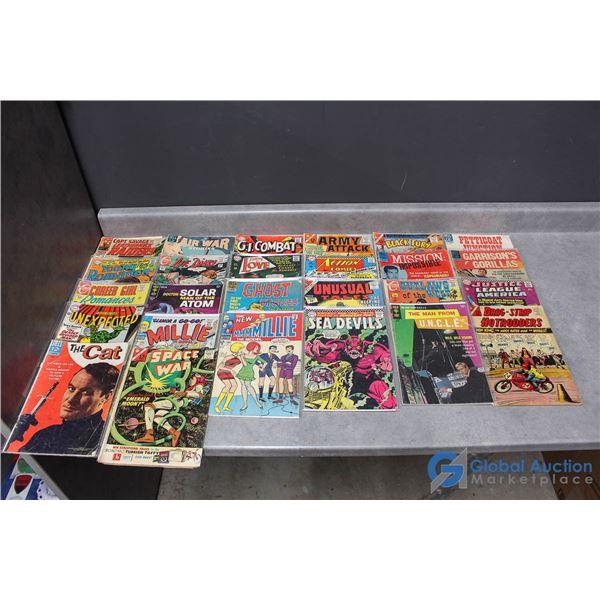 (25) .12 Cent Comics