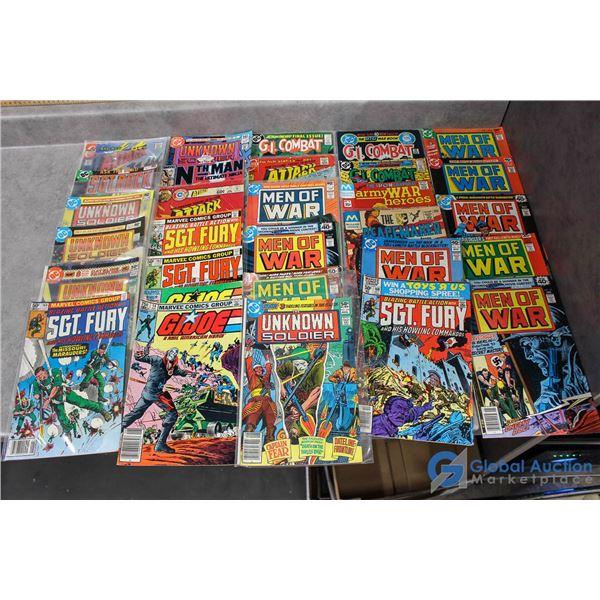 (30) War Comics