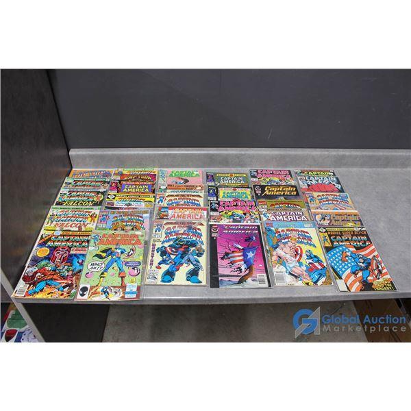 (30) Captain America Comics