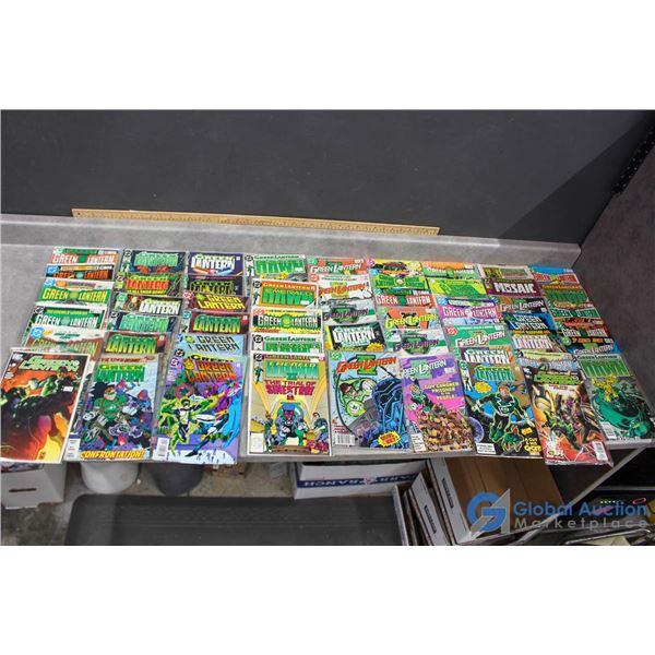 (50) Green Lantern Comics
