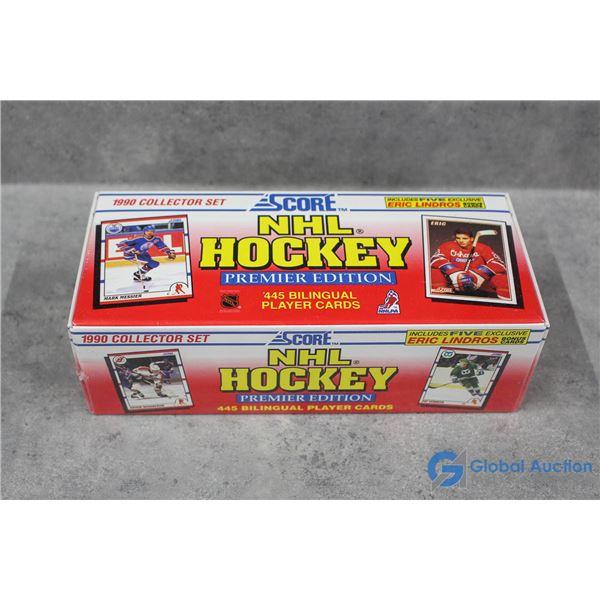 Sealed Box of 1990 Score Hockey Cards