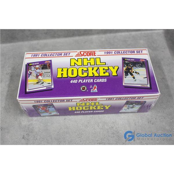 Sealed Box of 1991 Score Hockey Cards