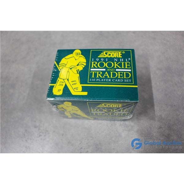 Sealed Box of 1990 Rookie & Traded Set