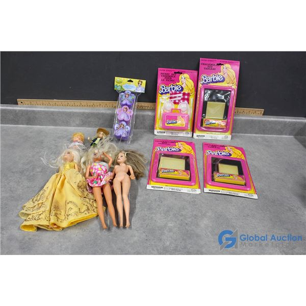 Various Vintage Barbie Toys & Accessories - Some Still in Packages