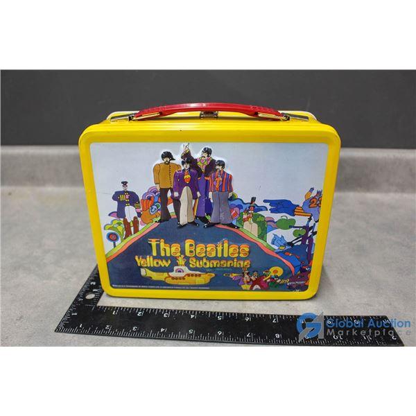 Repro Beatles Yellow Submarine Lunch Box