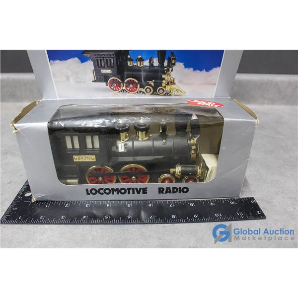 Locomotive Radio w/Box