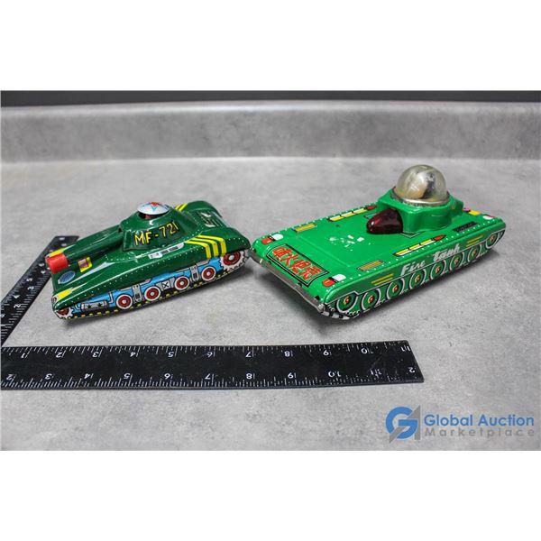 Tin Toy Tanks