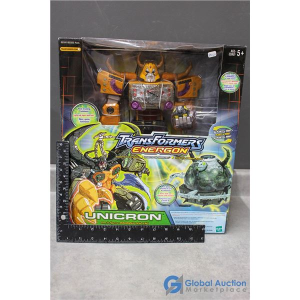 Transformers Energon Unicron In Package