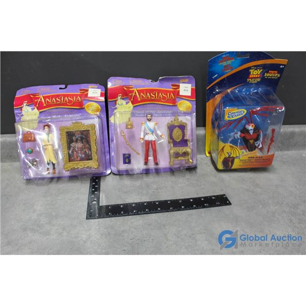 Disney's Anastasia & Pixar's Toy Story Toys
