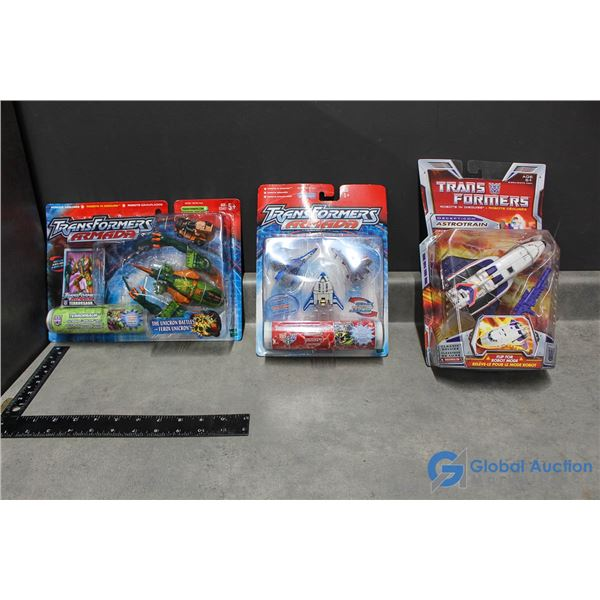 (3) Transformers Toys in Packages