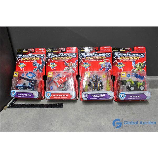 (4) In Package Transformers Energon
