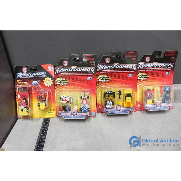 (4) Transformers in Disguise Toys in Packages