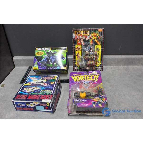 (4) Morphing Toys In Package