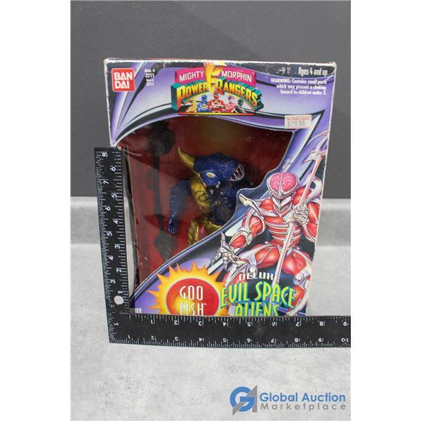"""Power Ranger Evil Space Aliens """"Goo Fish"""""""