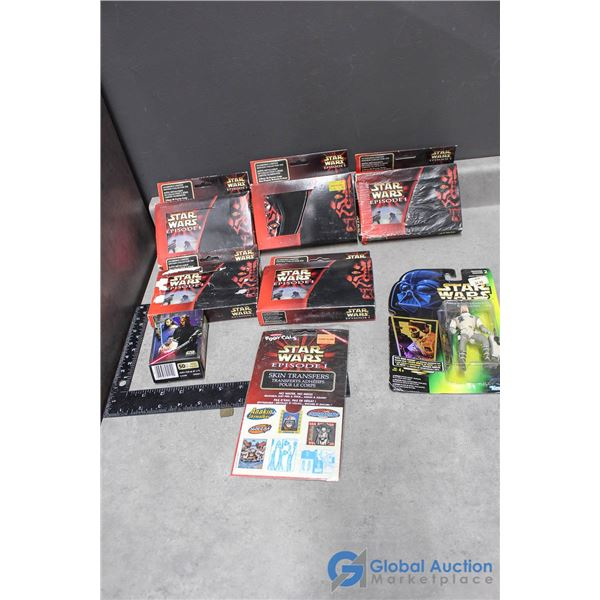 Assortment of Star Wars Toys
