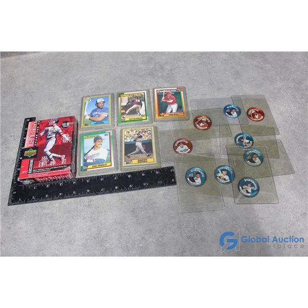 Baseball Cards & Collector Caps