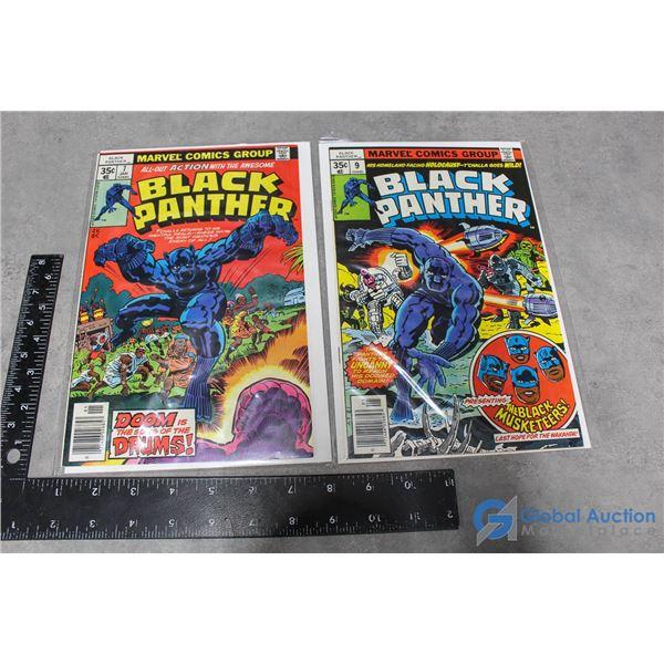 (2) Black Panther Comics