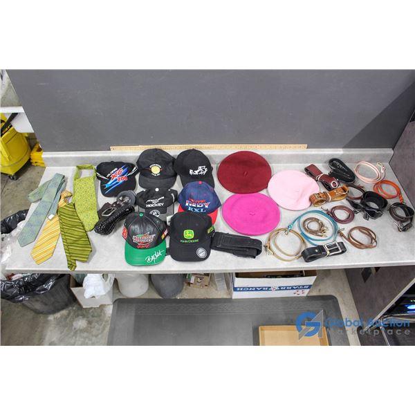 Fashion Accessories - Belts, Ties, Berets & Ball Caps
