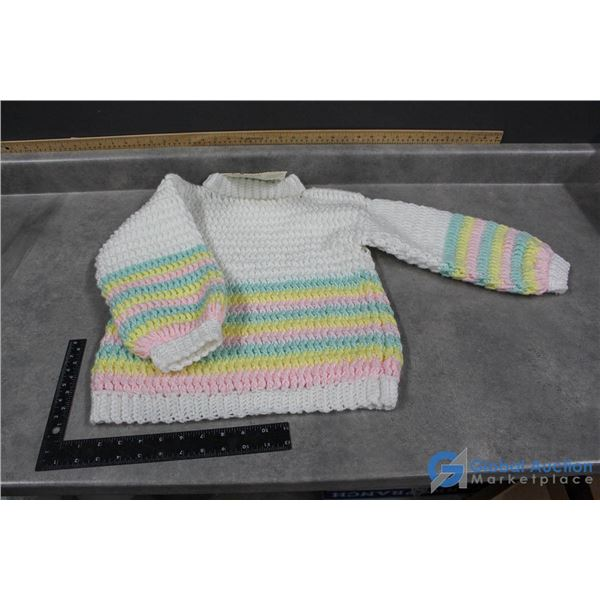Youth Hand Knit Sweater