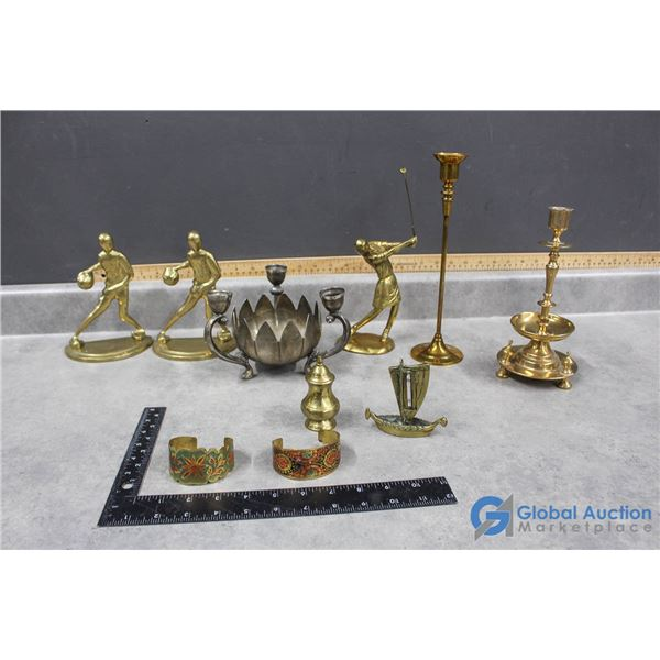 Assorted Brass Collectibles