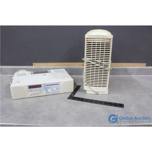 Spacemaker Cassette Stereo & Bionaire Air Purifier