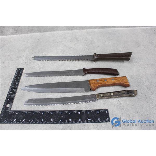 (4) Kitchen Knives