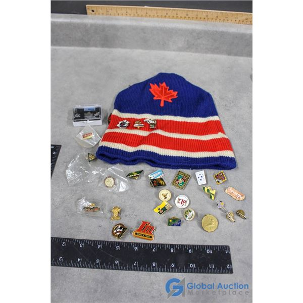 Pin Collection & Toque