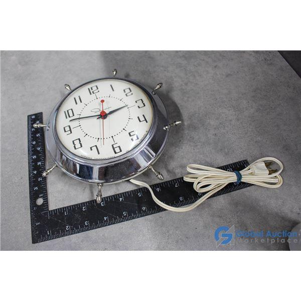 Ingraham Canadian Electric Wall Clock