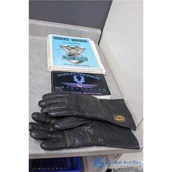 Harley Davidson Manuals & Gloves