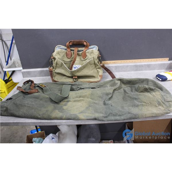 World Famous Duffle Bag & United By Blue Bag