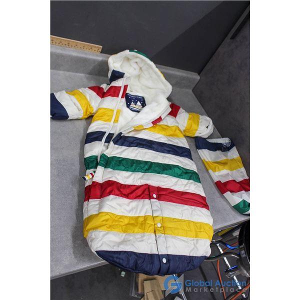 Hudson's Bay Baby Winter Suit w/Bag