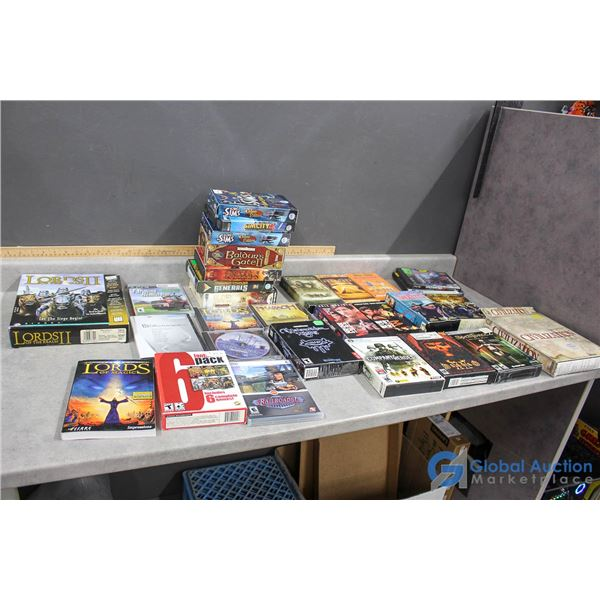 PC Games, PlayStation Games & VHS Tapes