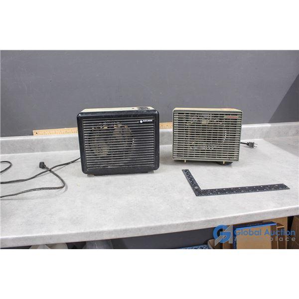 (2) Heaters - Black&Decker & Sea Breeze
