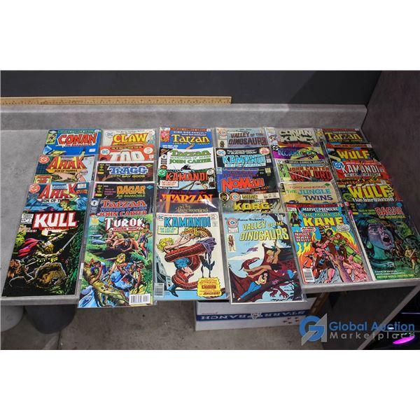 (30) Primitive Warriors Comics