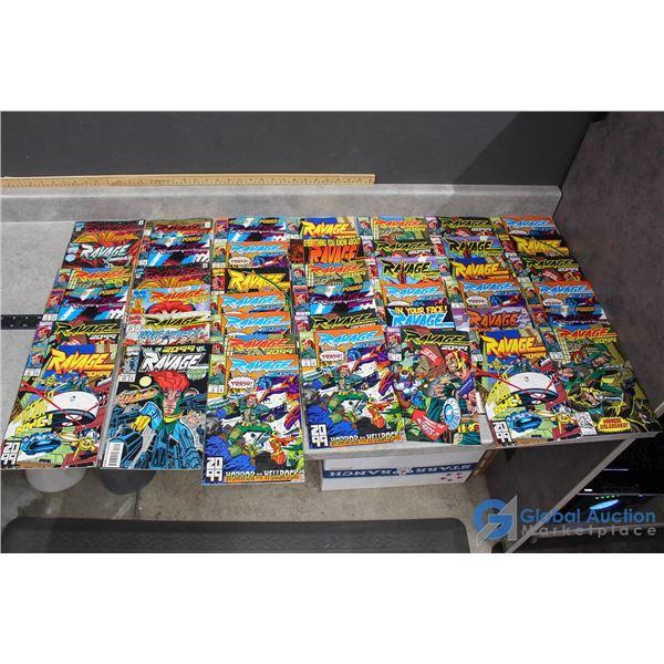 (40) Ravage Comics