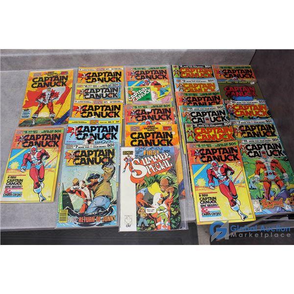 (20) Captain Canuck Comics