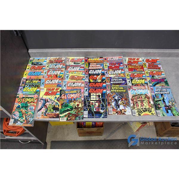 (35) G.I. Joe Comics