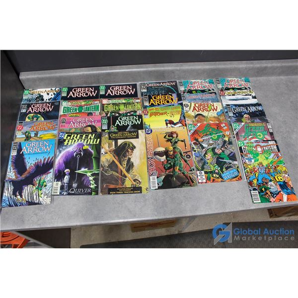 (25) Green Arrow Comics